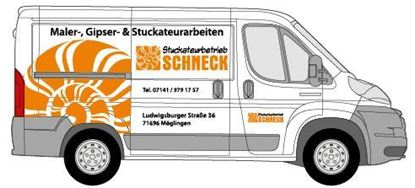 Picture of Beschriftung Transporter Seite